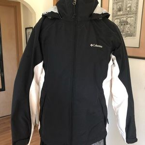 Columbia Hooded Waterproof Coat